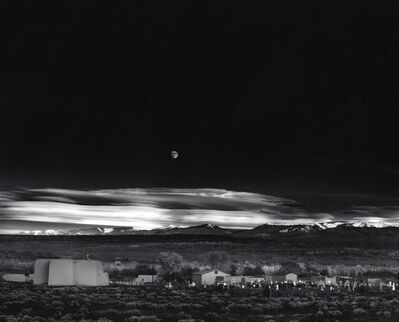 Ansel Adams, 'Moonrise Hernandez, New Mexico', 1941