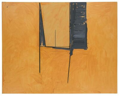 Robert Motherwell, 'The Mexican Window', 1974