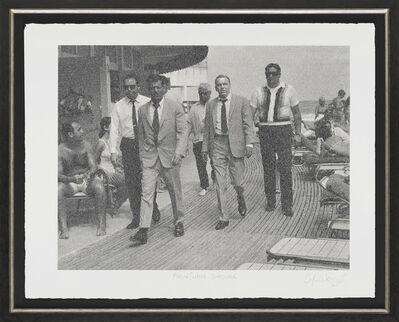 Simon Claridge, 'Frank Sinatra - Boardwalk', 2017
