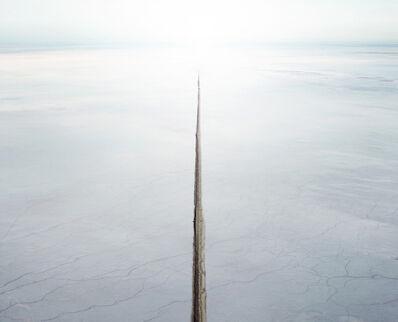 David Burdeny, 'Salt Flat and Canal, Sea of Cortez, Mexico'