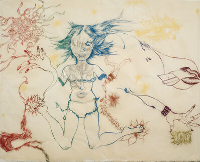 Chitra Ganesh, 'Delicate Line: Corpse She Was Holding (portfolio, NOT SOLD INDIVIDUALLY)', 2009-2010