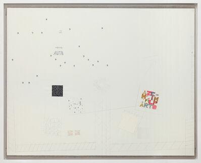 Alighiero Boetti, 'A tutto tondo mettere al mondo il mondo', 1977