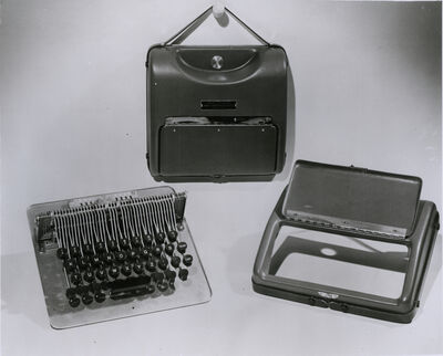 'Electro-Braille Communicator ', 1954