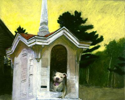 Jamie Wyeth, 'That Dog's House', 2008