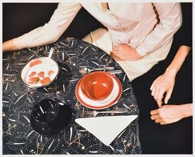 Jo Ann Callis, 'Black Table Cloth', 1979