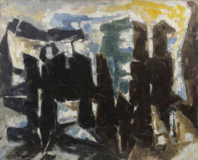 Paul Kallos, 'Composition', 1957