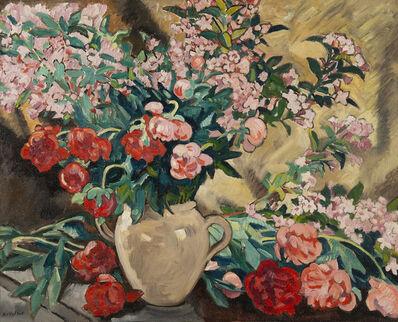 Louis Valtat, 'Pivoines dans un vase jaune', 1927