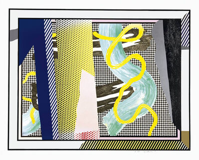 Roy Lichtenstein, 'Reflections on Brushstrokes', 1990