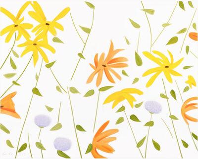 Alex Katz, 'Summer Flowers II', 2017
