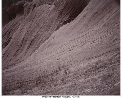 Linda Connor, 'Dots and Hands (Bluff, Utah), The Spanish Entering Canyon de Chelley (Arizona), and Spanish Rider (Arizona)', 1987