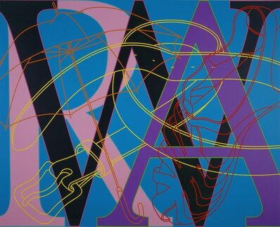 Michael Craig-Martin, 'Untitled (WAR)', 2007