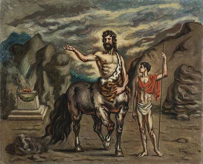 Giorgio de Chirico, 'Achille e Chirone', 1938