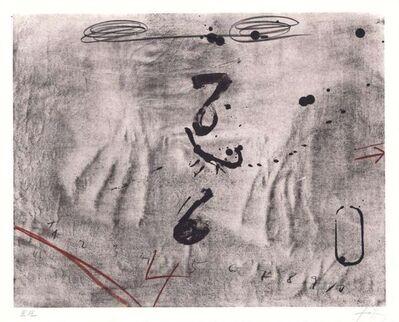Antoni Tàpies, 'Empreintes de Mains', 1970-1980