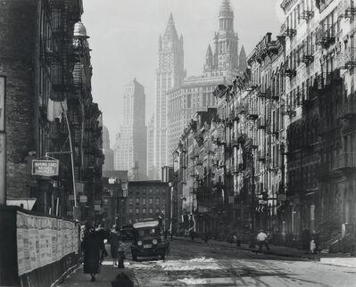 Berenice Abbott, 'Henry Street, Lower East Side, New York'