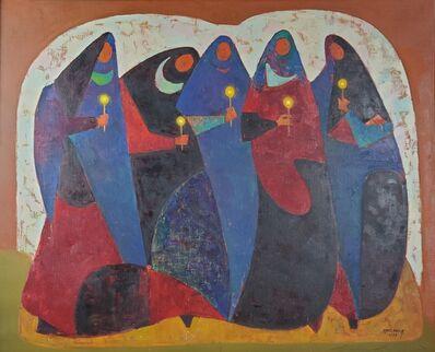 Rodolfo Abularach, 'La Candelaria', 1957