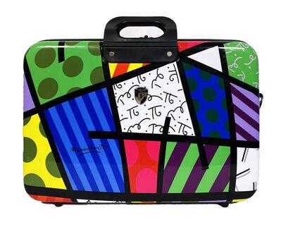 Romero Britto, ''Britto E-Sleeve' Laptop Briefcase x Heys', 2009