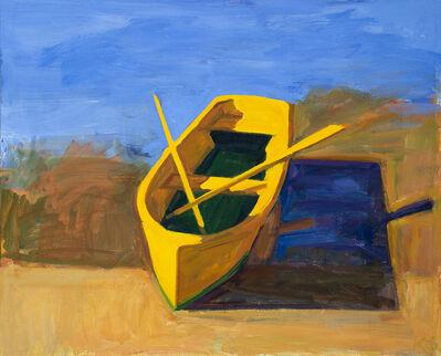 Kurt Solmssen, 'Yellow Boat, Morning', 2020