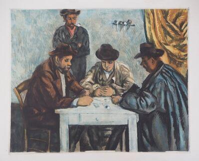 Paul Cézanne, 'Card players', 1929