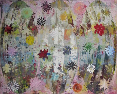 Perry Burns, 'Flower Tapestry I', 2017