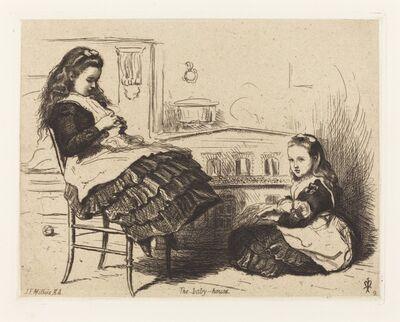 Sir John Everett Millais, 'The Doll House'