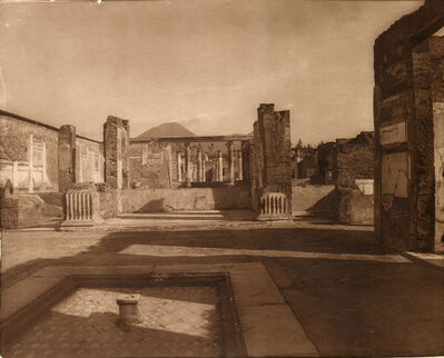 Adolphe Braun, 'Pompeii', 1900c/1900c