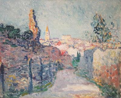 Louis Valtat, 'Village à la tour en ruine', 1903