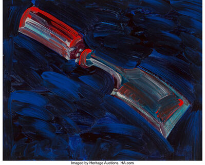 Frank Romero, 'Chisel, Paintbrush, and Hammer from the Studio Objects Series (three works)'