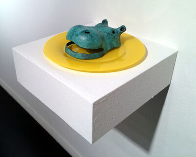 Ken Little, 'Hippo Plate', 2015