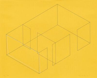 Fred Sandback, ' Acht Variationen fur die Galerie Heiner Friedrich [Eight Variations for Galerie Heiner Friedrich]', 1971-1973