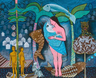 Alicia Leal, 'Duermete Luna mía   Sleep Moon of Mine', 2019