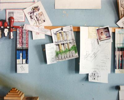 Luigi Ghirri, 'Milano, 1989-90 Studio di Aldo Rossi', 1989-1990