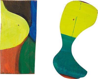 Mary Heilmann, 'Two Works: (i) Rompecabeza Uno 32; (ii) Rompecabeza Dos 24', 2000