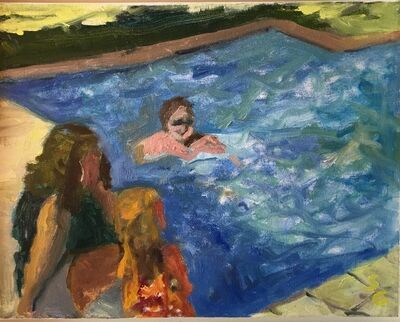 Suzanne Guppy, 'End of Summer Pool Time', 2014