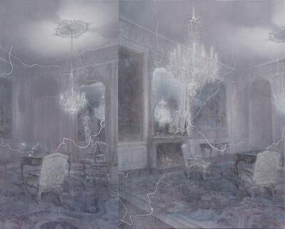 Fu Site 傅斯特, 'Danger hiding behind the night 夜晚的巴洛克室內場景', 2016