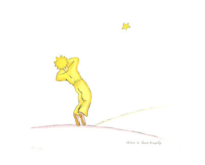 Antoine de Saint-Exupéry, 'The Little Prince (lg)', 2008
