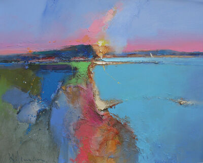 Peter Wileman, ' The Bay Silent by the Speaking Sea', 2018