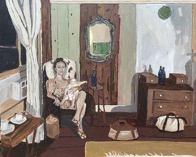 Polina Barskaya, 'Hotel in Hobart Village', 2020