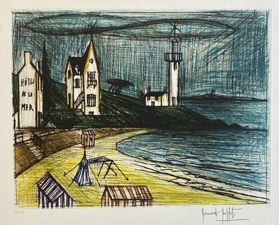 Bernard Buffet, 'Hotel de la Mer', ca. 1990