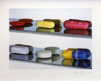 Damien Hirst, 'SIX PILLS (LARGE)', 2004