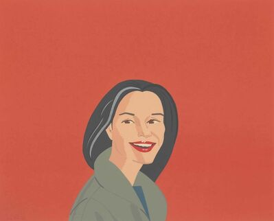 Alex Katz, 'Big Red Smile ', 1995