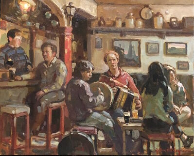 John C. Traynor, 'Friday Night at O'Donahues', 2019