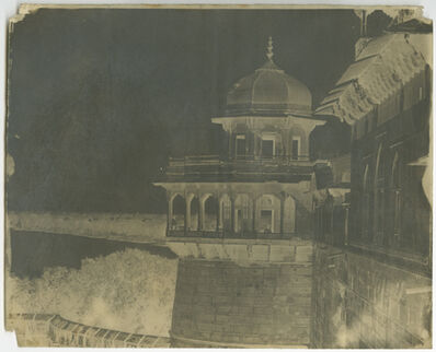 Dr. John Murray, 'King's Tower, Agra', 1864
