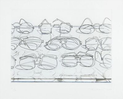 Wayne Thiebaud, 'Eyeglasses', 1994