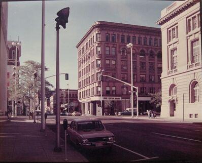 Stephen Shore, 'Lincoln Street & Riverside Street, Spokane, WA', 1974