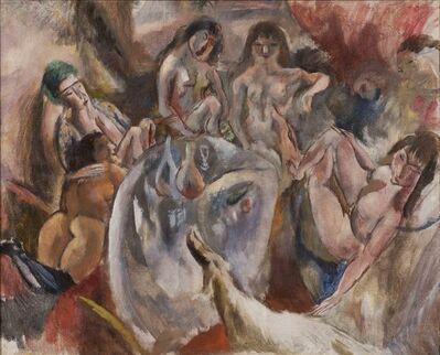 Jules Pascin, 'L'attente de l'enfant prodigue', 1918