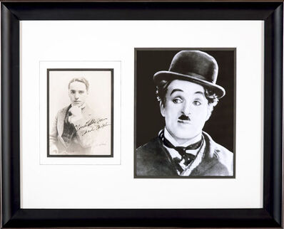Charles Spencer Chaplin, 'Hand Signed Photo, JSA Authenticated', 1920