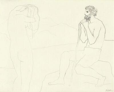 Pablo Picasso, 'Homme et Femme', 1926