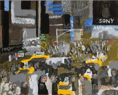 Gary Peabody, 'Times Square Day', 2015