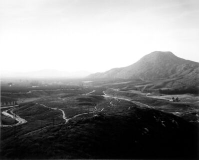 Robert Adams (b.1937), 'Looking Past Citrus Groves into the San Bernardino Valley, Northeast of Riverside, California', 1983