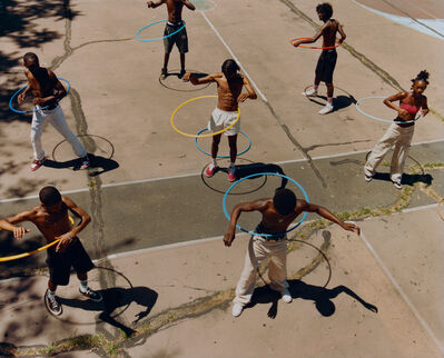 Tyler Mitchell, 'Untitled (Group Hula Hoop)', 2019